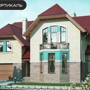 Проект кирпичного дома 37-12 фото
