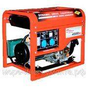 Генератор DDE DDG6000E, дизельный, однофазный, мощностью 5 кВт, - в аренду фото