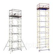 Вышка тура строительная ВЕКТОР, сборная, высота 5,2 метра фото
