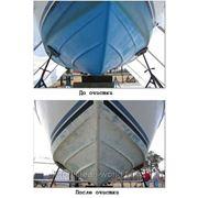 Удаление краски с кораблей фото