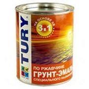 Грунт-эмаль по ржавчине TURY (11 кг) цвет в асс-те фото