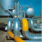 Покраска трубопровода фото