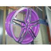 Порошковая окраска дисков фото