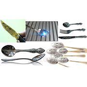 Гравировка ложек, вилок, ножей в Курске фото
