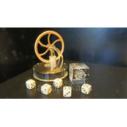 Логотип 3Д (3D) в стеклянных кубиках - лазерная гравировка фото