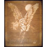 Картина Ангел (Гравировка на дереве)