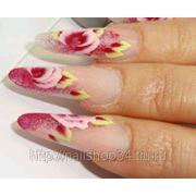 Китайская роспись ногтей фото