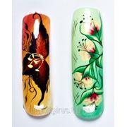 Мастер-класс по китайской росписи на ногтях фото
