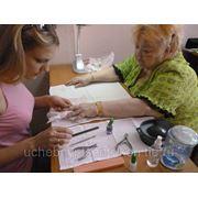 Обучение маникюру-педикюру + гель лак фото