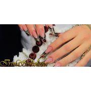 Обучение наращиванию ногтей акрилом фото