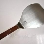 Лопатка металлическая с деревянной ручкой L=22,5см Proff Chef Line LQ фото