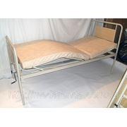 Аренда функциональной кровати с подъемом ножной и головной секции и медицинским матрасом в комплекте. фото