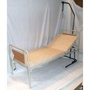 Аренда функциональной кровати с подъемом головы, надкроватной трапецией и медицинским матрасом в ком фото
