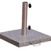 Утяжелители для зонтов из высокопрочного фактурного бетона под гранит фото