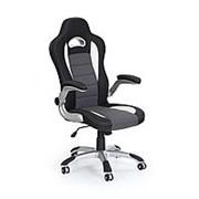 Кресло компьютерное Halmar LOTUS (черно-серый) фото