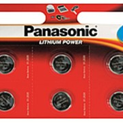 Батарейка Panasonic Power Cells CR2032 B6 фото