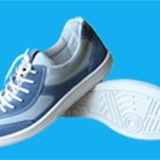 Обувь для активного отдыха с верхом из комбинации кож двух оттенков фото