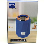 Портативная Bluetooth колонка Wireless K26 (Blue) фото