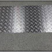 Лист алюминиевый с рифлением (квинтет) толщиной 1,5 до 4мм фото