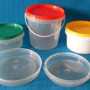 Пластиковые вёдра,банки фото