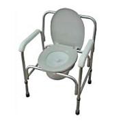 Кресло-туалет облегченное со спинкой (АМСВ93) фото