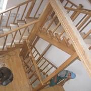 Монтаж лестниц, площадок обслуживания и ограждения фото