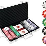 Покерный набор на 300 фишек с номиналом ГД4 - 300 фото