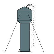 Башни водонапорные фото