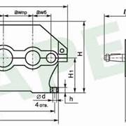Редукторы цилиндрические трехступенчатые горизонтальные 1Ц3У-160 фото