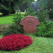 Озеленение могил и надгробий фото