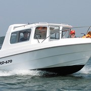 Суда спортивные моторные: катера FIORD 670 фото