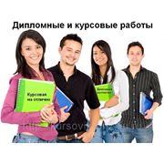 Индивидуальное выполнение дипломных работ фото