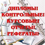 Контрольные, курсовые, дипломные работы на заказ в Челябинске фото