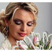 Свадебный экстравогантный ммакияж фото