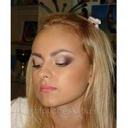 классический вечерний макияж фото