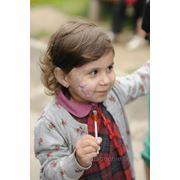 Аквагрим а детский праздник фото