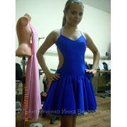 Платье на латину фото
