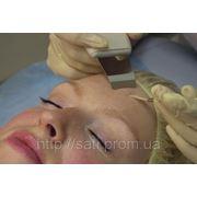 Лечебная механическая чистка лица, ультразвуковая, комбинированная