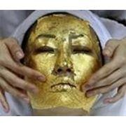 Золотая маска Клеопары для сухой кожи фото