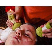 Head&Face - массаж горячими травяными мешочками фото
