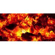Уголь древесный в фасовке 3 кг. фото