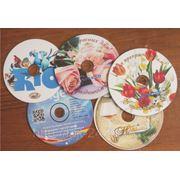 Печать на дисках CD, DVD фото