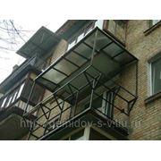 Металлокаркасы под балконы фото