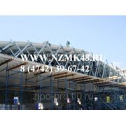 Ангары из оцинкованного строительно профиля ЛСТК фото