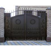 Кованые ворота № 10