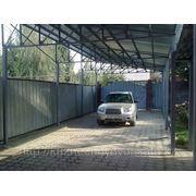 Навесы для автомобилей в Алматы. Алматы. фото