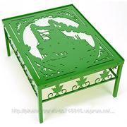 Декоративная мебель - фигурный стол фото