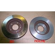 Проточка тормозных дисков и барабанов фото