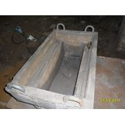 Изложницы металлургические и коробки для шлака фото