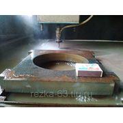 Гидроабразивная резка металла, камня, стекла.  фото